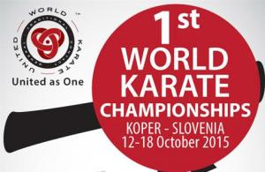 Pascal Vigneron champion du monde de Karaté.