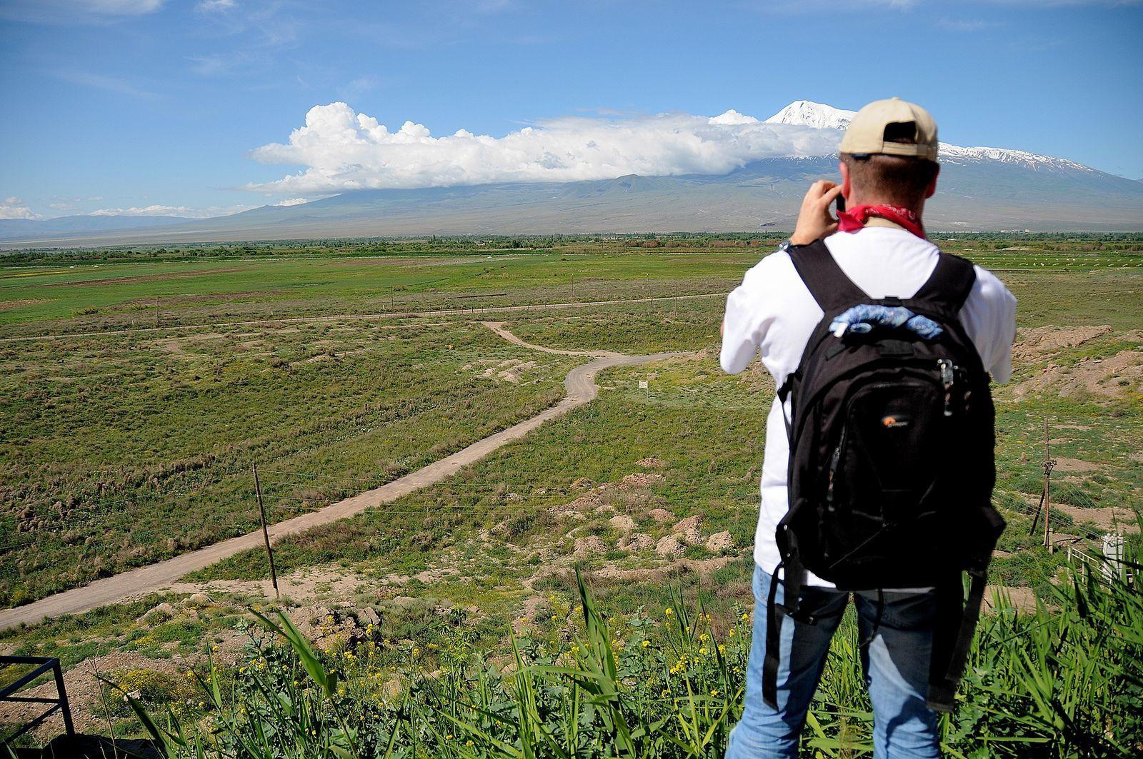 Etre en plein coeur de l'Arménie et si proche de la Turquie...