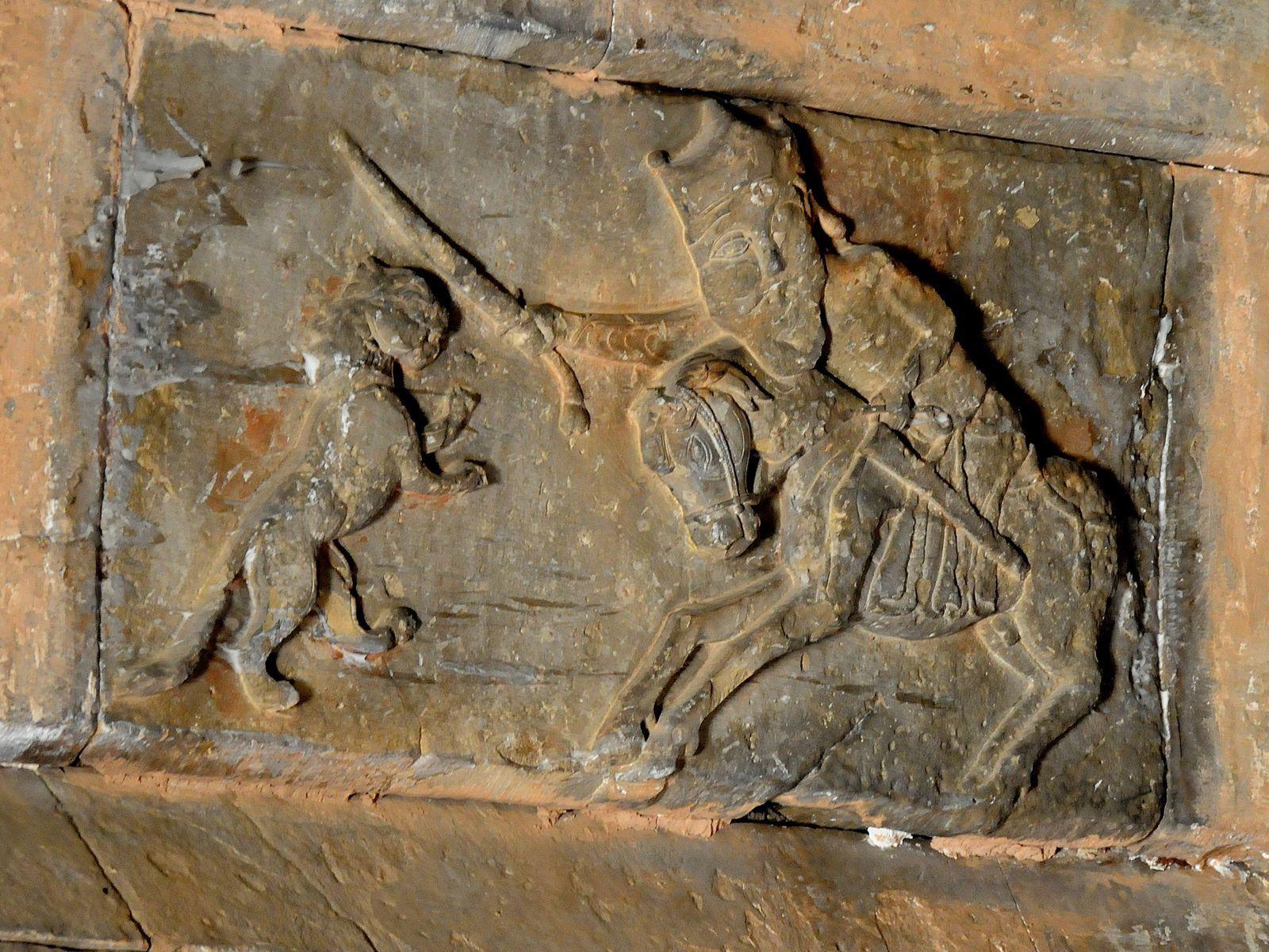 Détail de l'intérieur de l'église Sourp Karapet