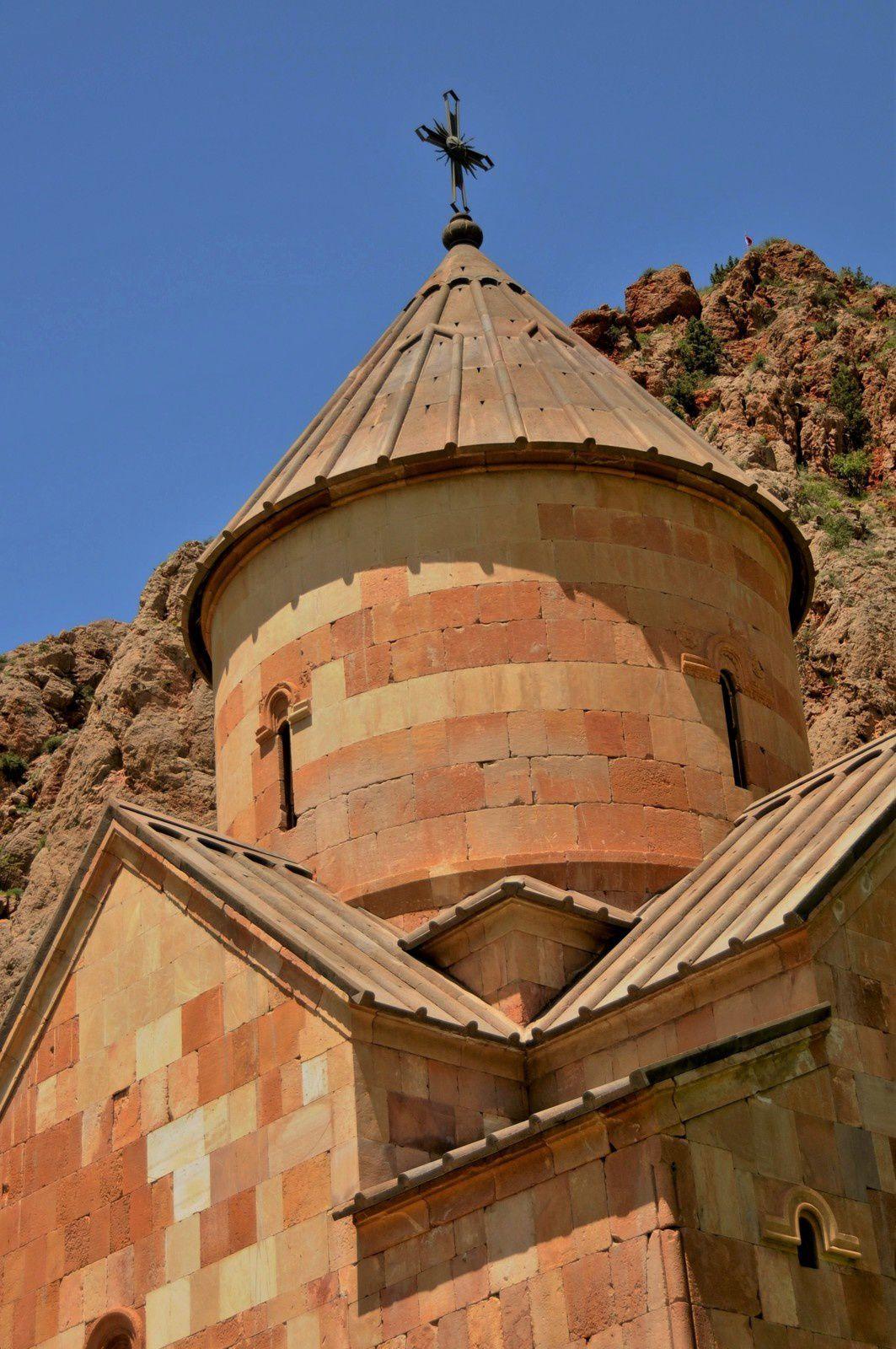 Le dôme de l'église Sourp Karapet