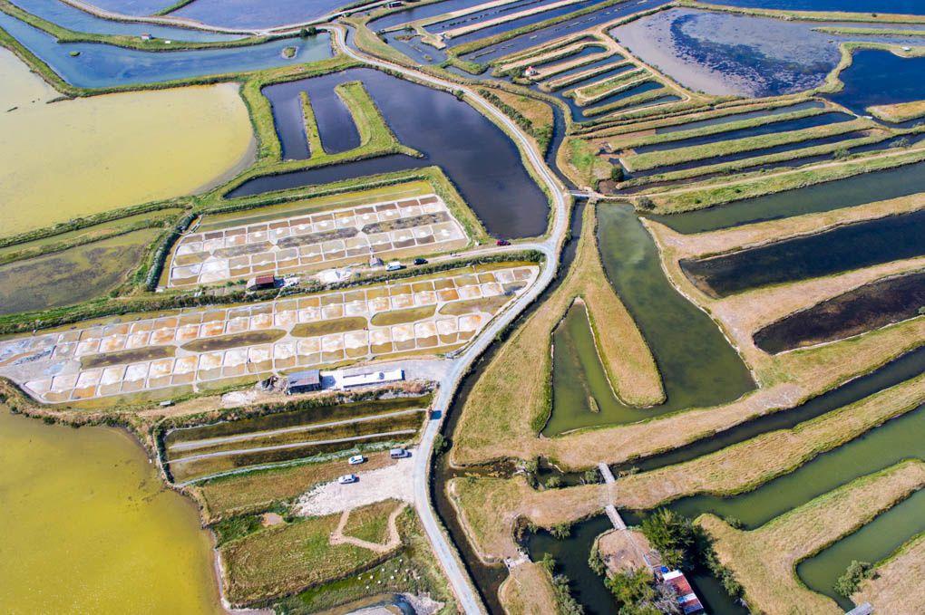 Marais salants de L'ILE d'OLONNE en ULM