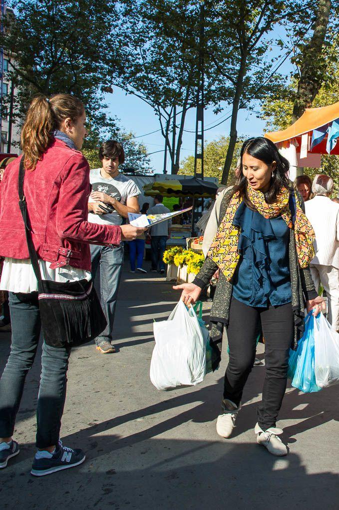 Sur le vif au marché de la Croix-Rousse