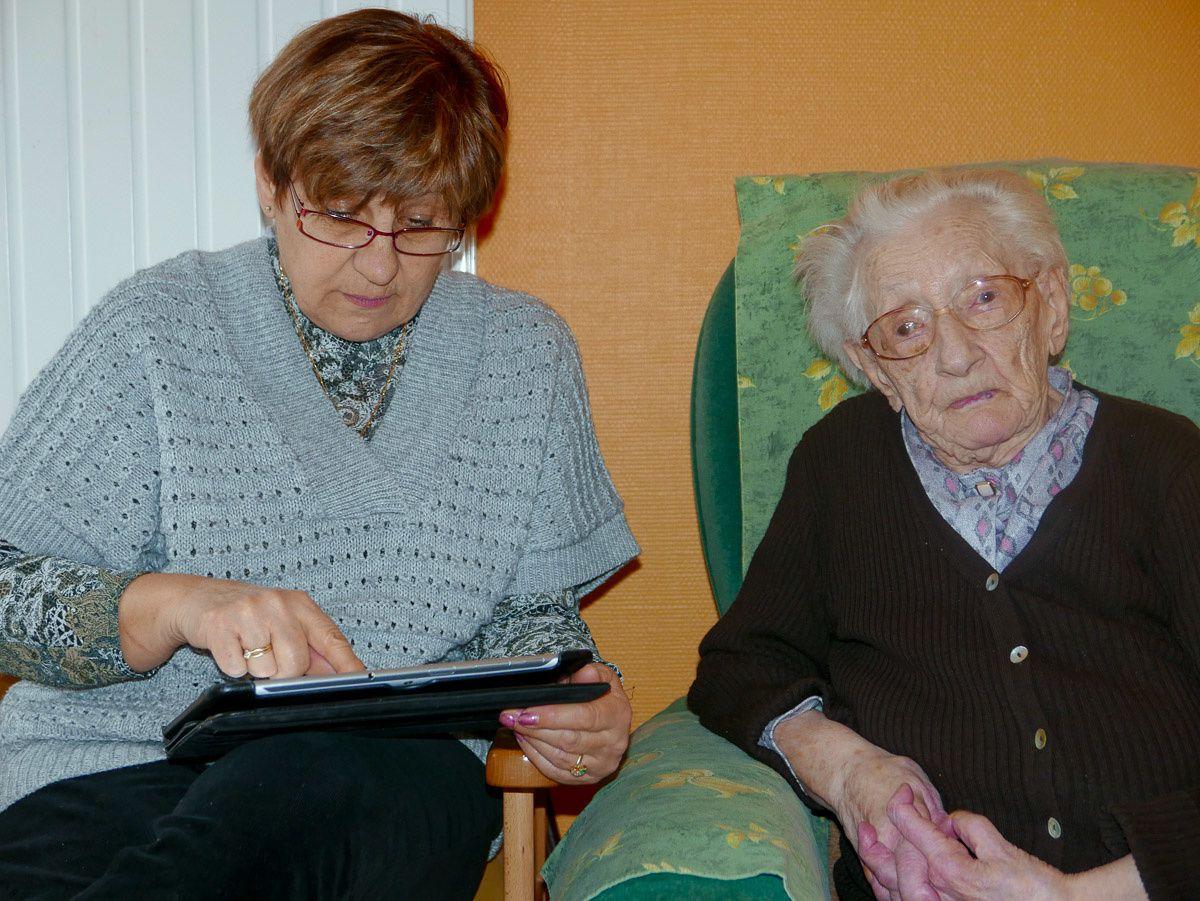 104 ans et 2 mois ...! Merci Jeanne ROBERT