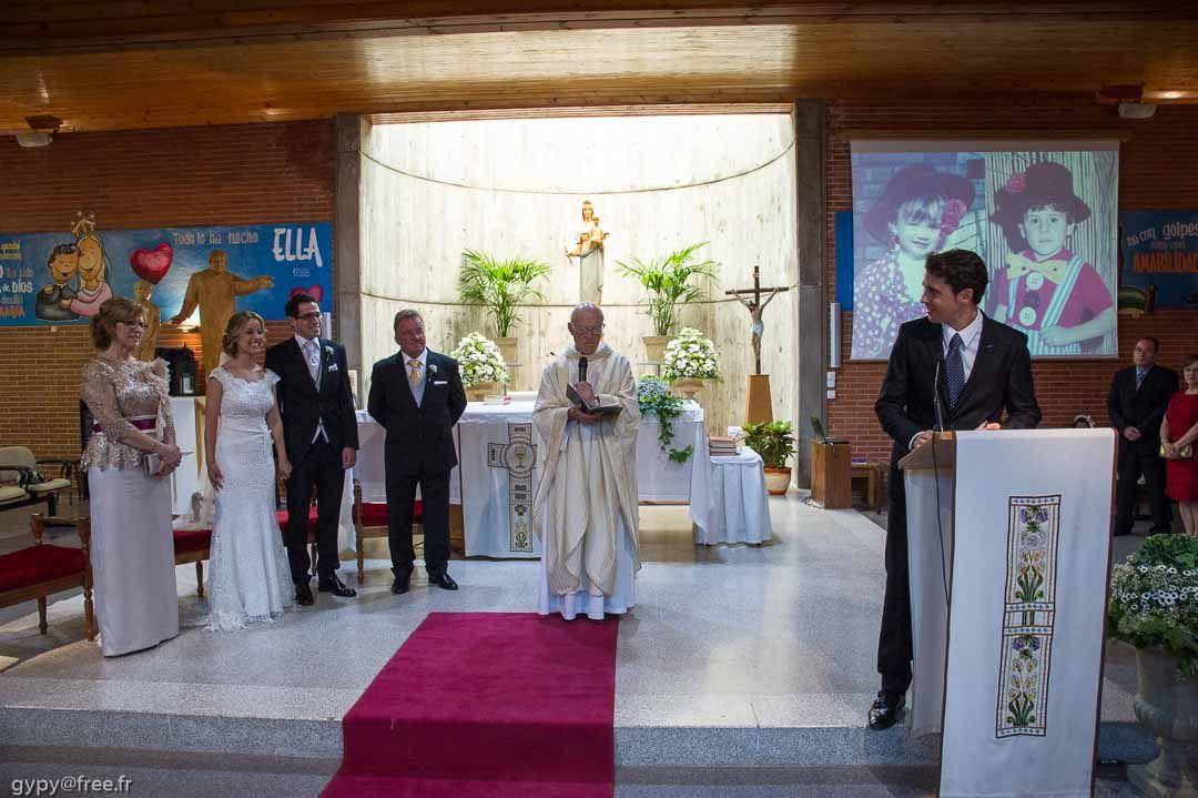 Mariage de Virginie et Fernando : La Cérémonie religieuse