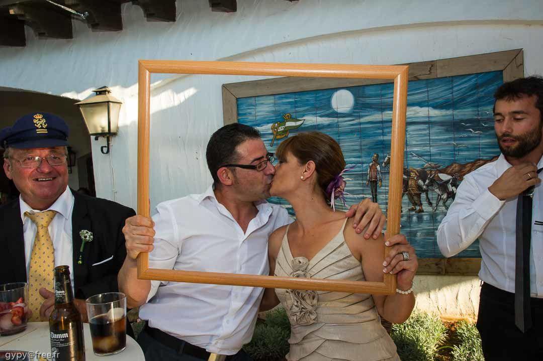 Mariage de Virginie et Fernando : Service des Cadres