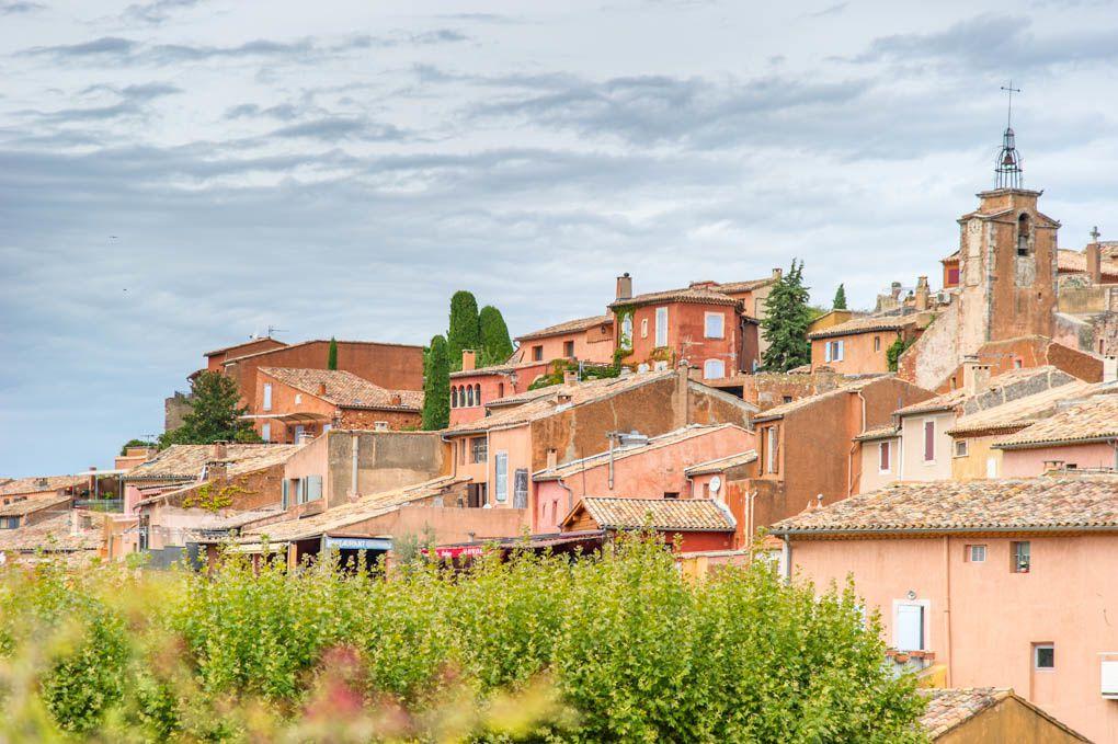 Bonnieux et sa région : ROUSSILLON Le Village
