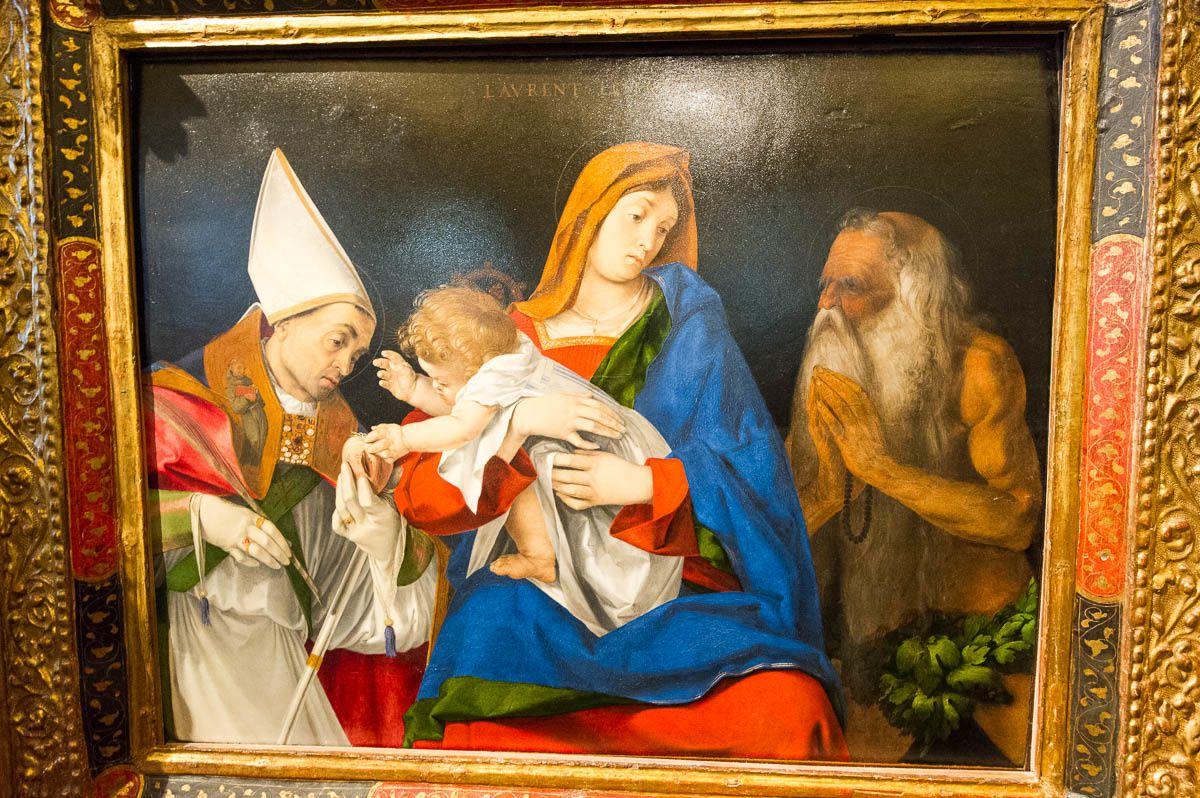 La galerie Borghèse et l'expo temporaire Azzedine Alaïa