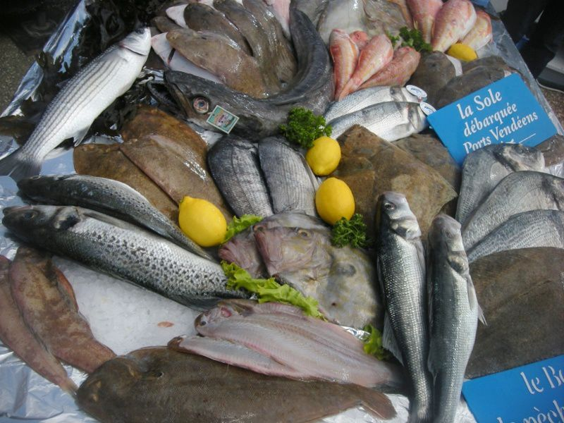 Frischer Fisch aus der Vendée