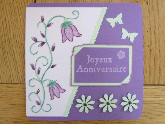 Cartes d'anniversaire...2éme...et 3éme!!!!