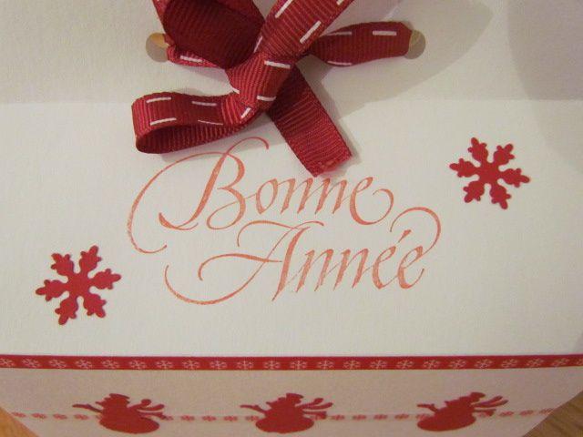 Bonne Année!!! et...petits cadeaux maison...