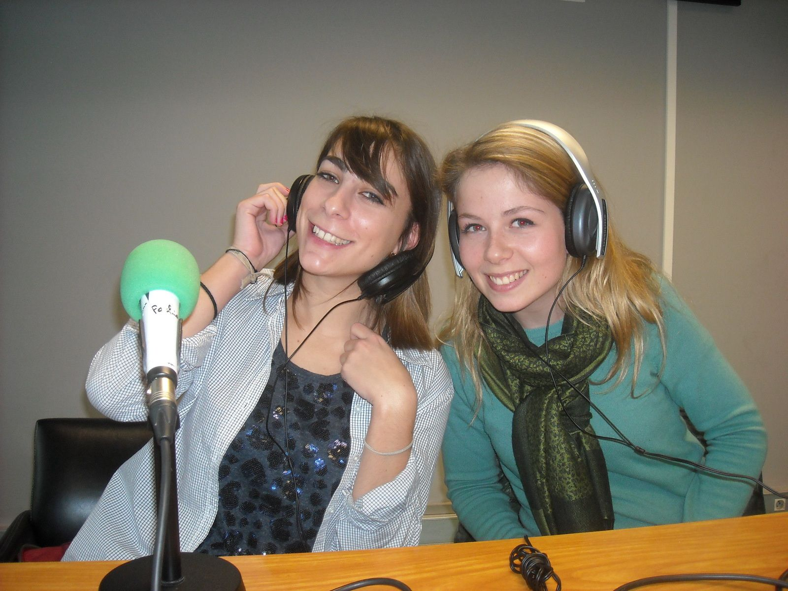 Perrine Ruivard et Lucie Joly, coachs des Pompom Girls de Bordeaux Sciences Agro.