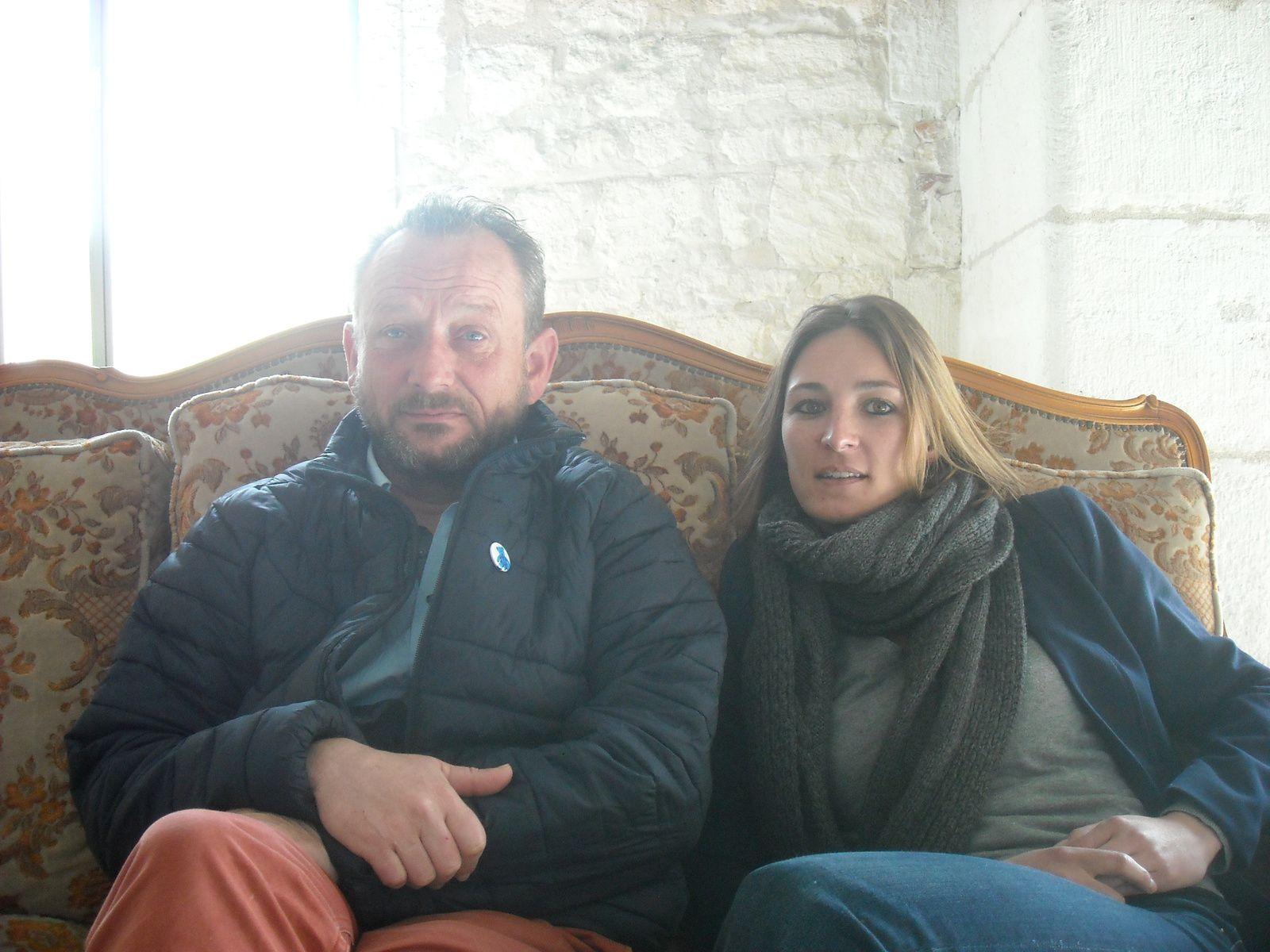 Nancel Dukers et Flora Stich.