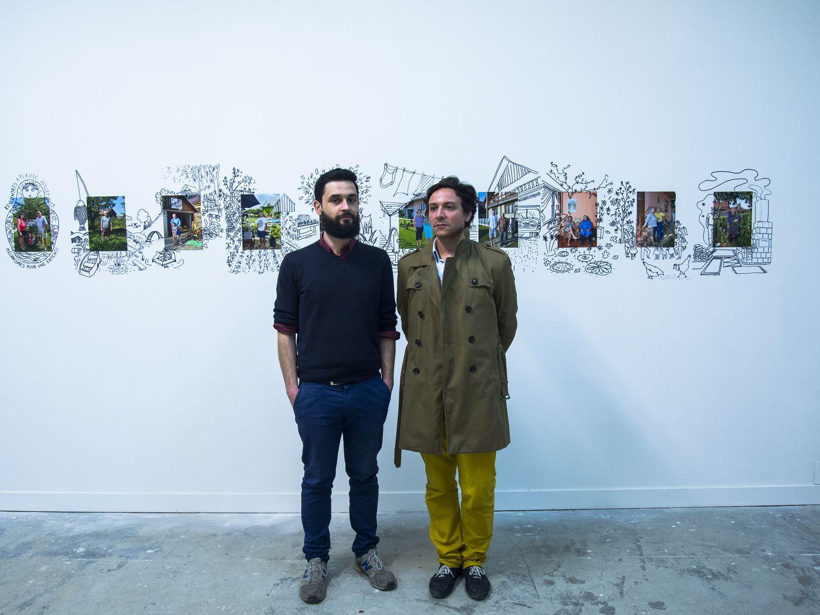 Arnaud Coutellec et Marc-Henri Garcia, directeurs associés de 5UN7.