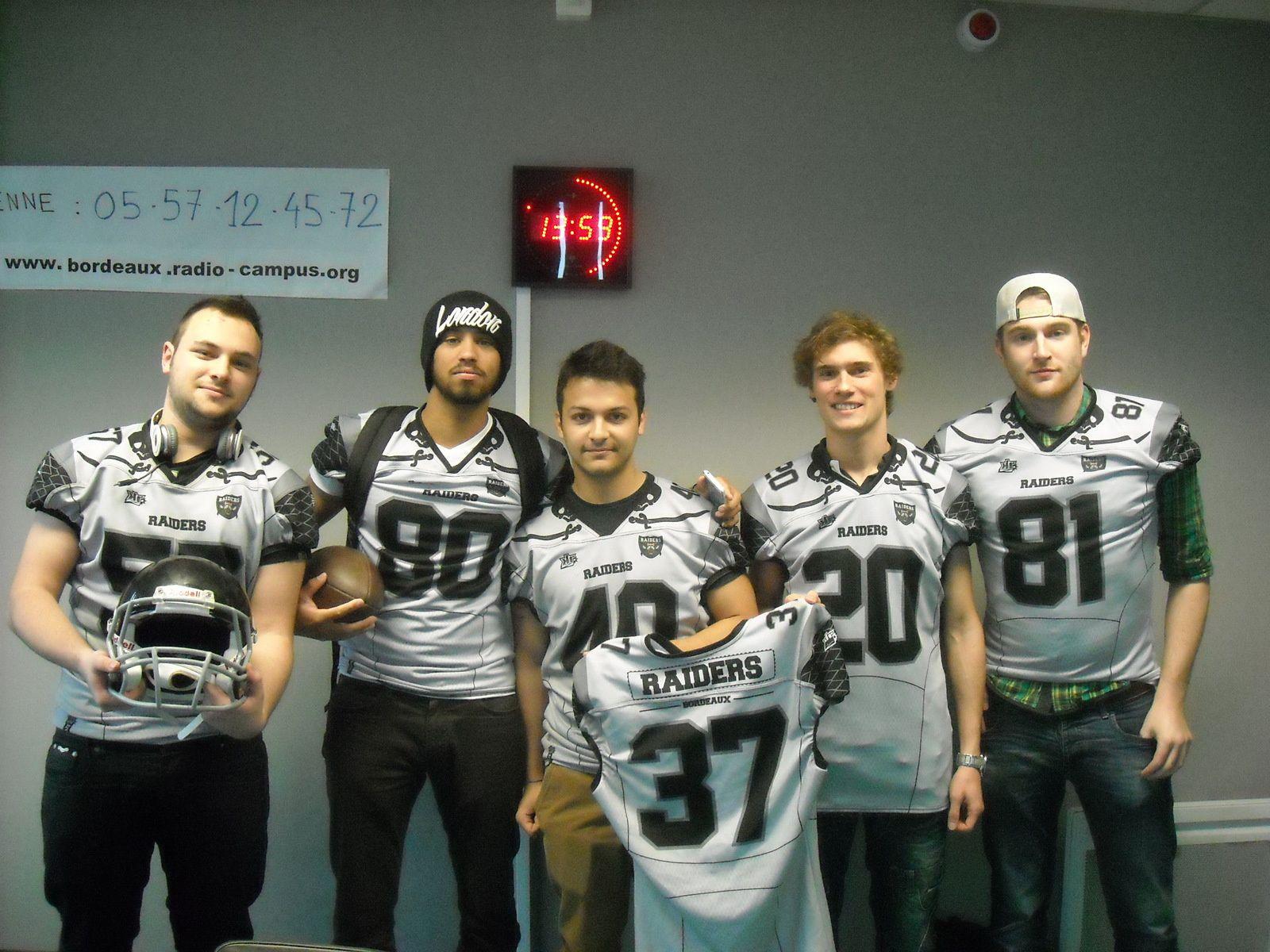 Sport Campus Football Américain - Les Raiders de Bordeaux