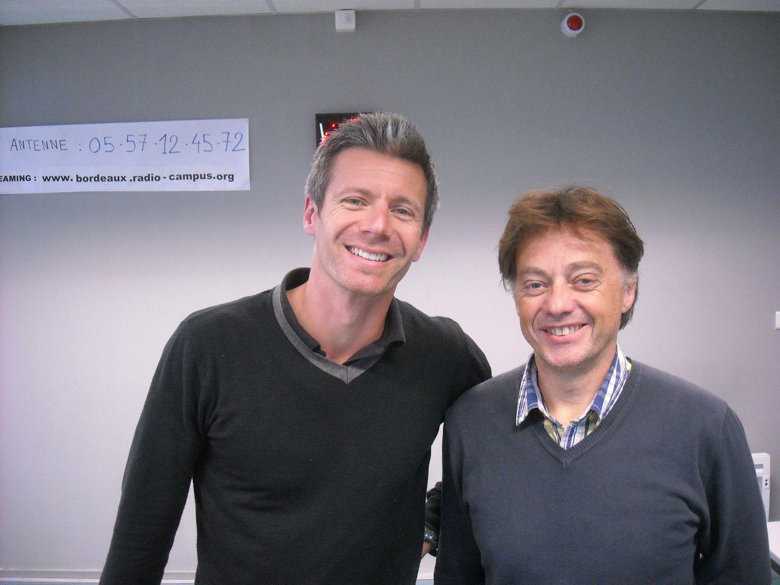 Thomas Fondeur et Laurent Queyret du CRSU Bordeaux.