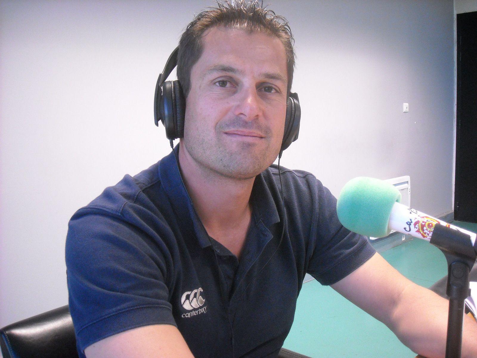 Nicolas Dastor, organisateur de la Nuit du Volley.
