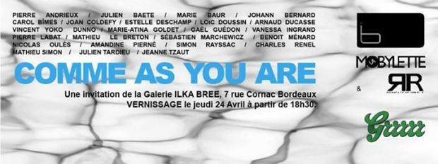 o2 radio 91.3FM : Interview autour de l'exposition &quot&#x3B;Comme as you are&quot&#x3B;