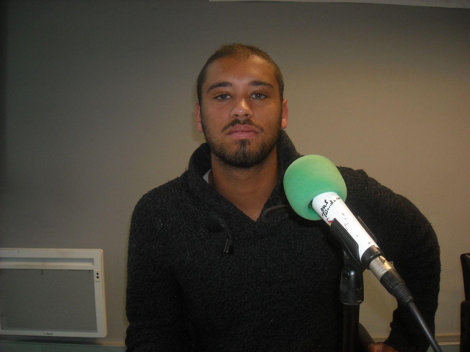 Yannick Vincent, formateur des ramasseurs de balles Bordeaux Primrose.