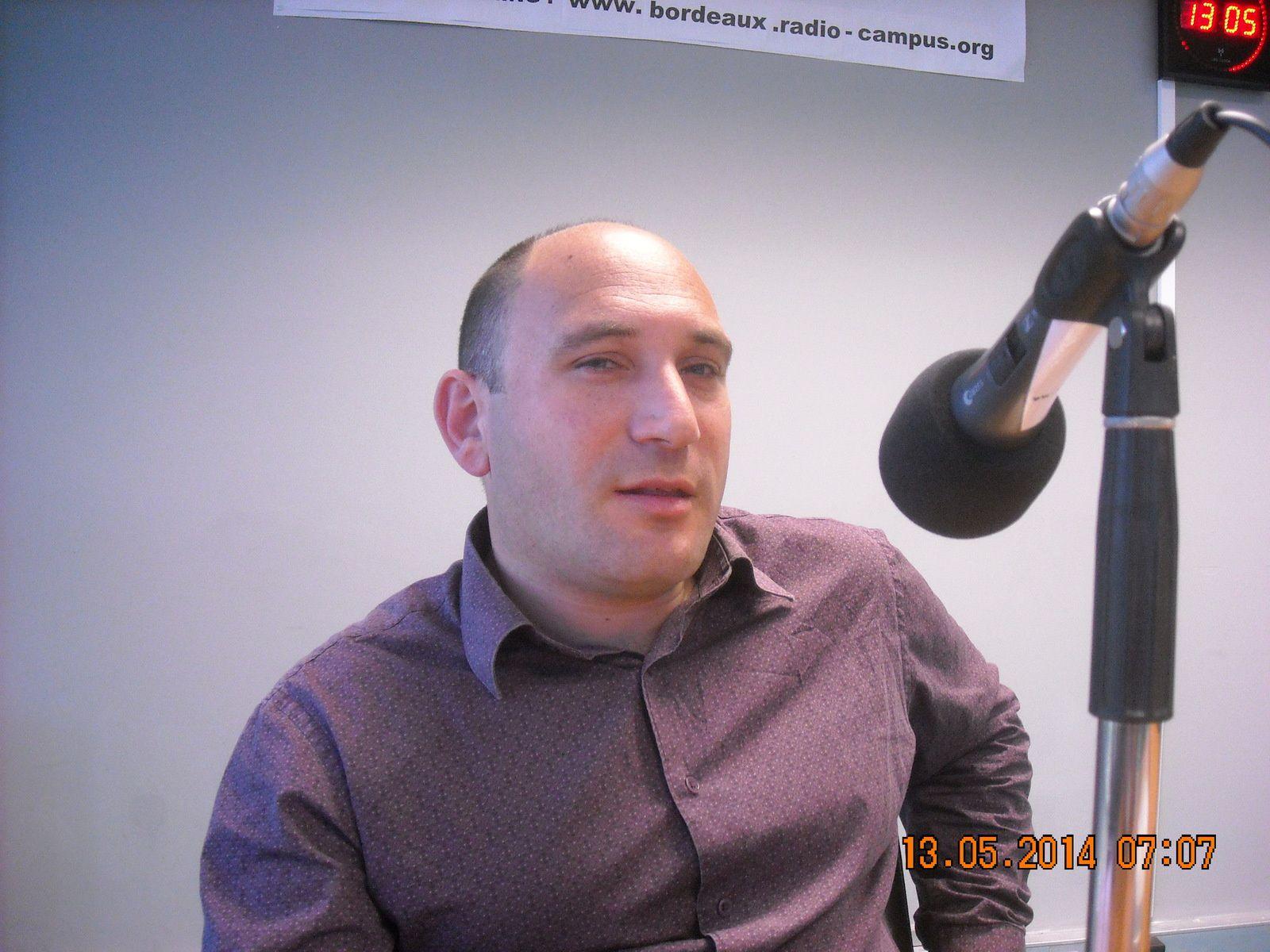 Olivier Gautraud, président du Canéjan BMX Club.
