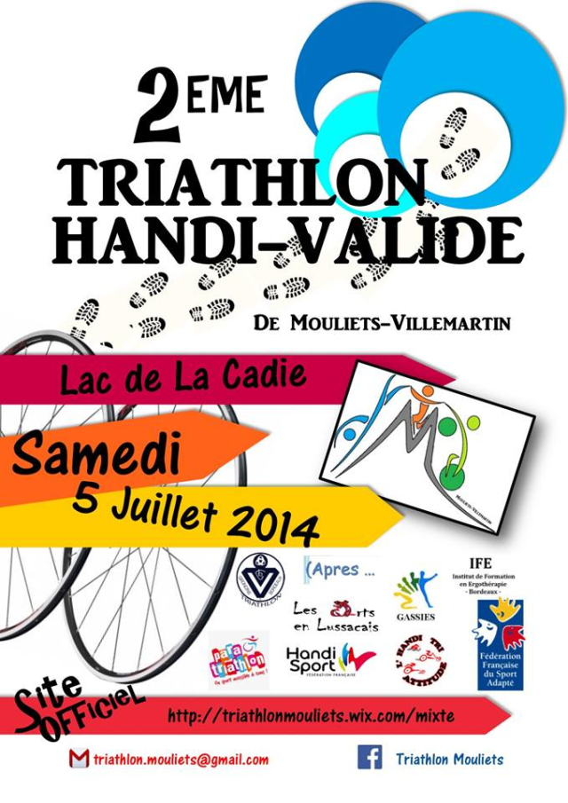 Chronique Sportive - Bryan Dock, Triathlon Handi-Valide de Mouliets
