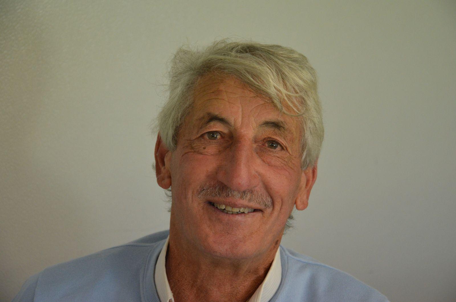 Albert TOBELEM, président du Marseille Mazargues Canoë Kayak.