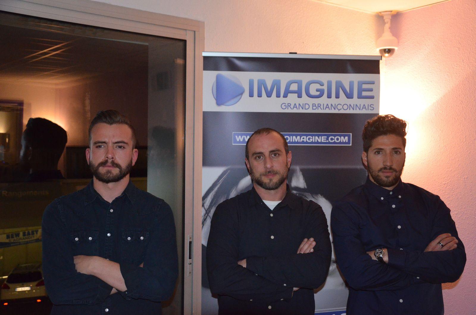 Le trio Consortium avec de gauche à droite Mike, Magi et Damien