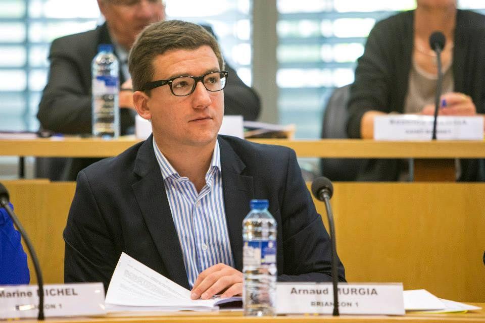 Arnaud MURGIA, conseiller départemental des Hautes-Alpes.