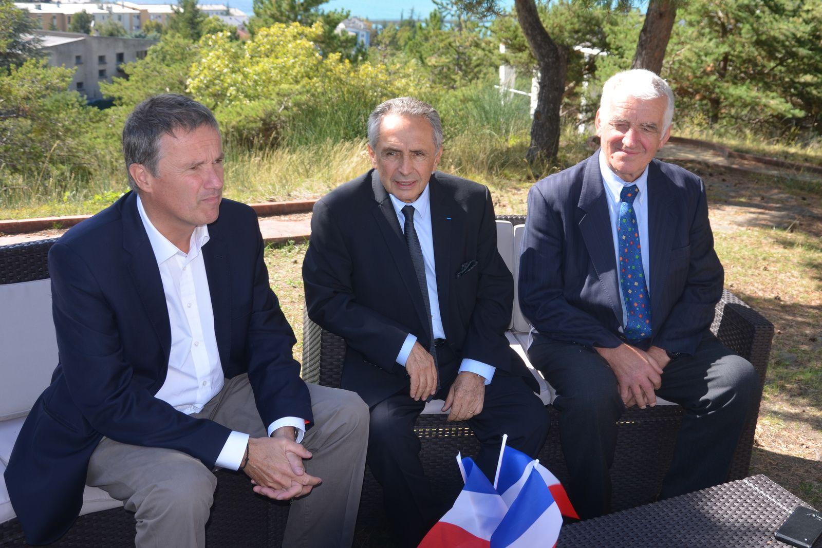 La Provence Les Alpes - Site Internet : DUPONT-AIGNAN invité par Victor BERENGUEL