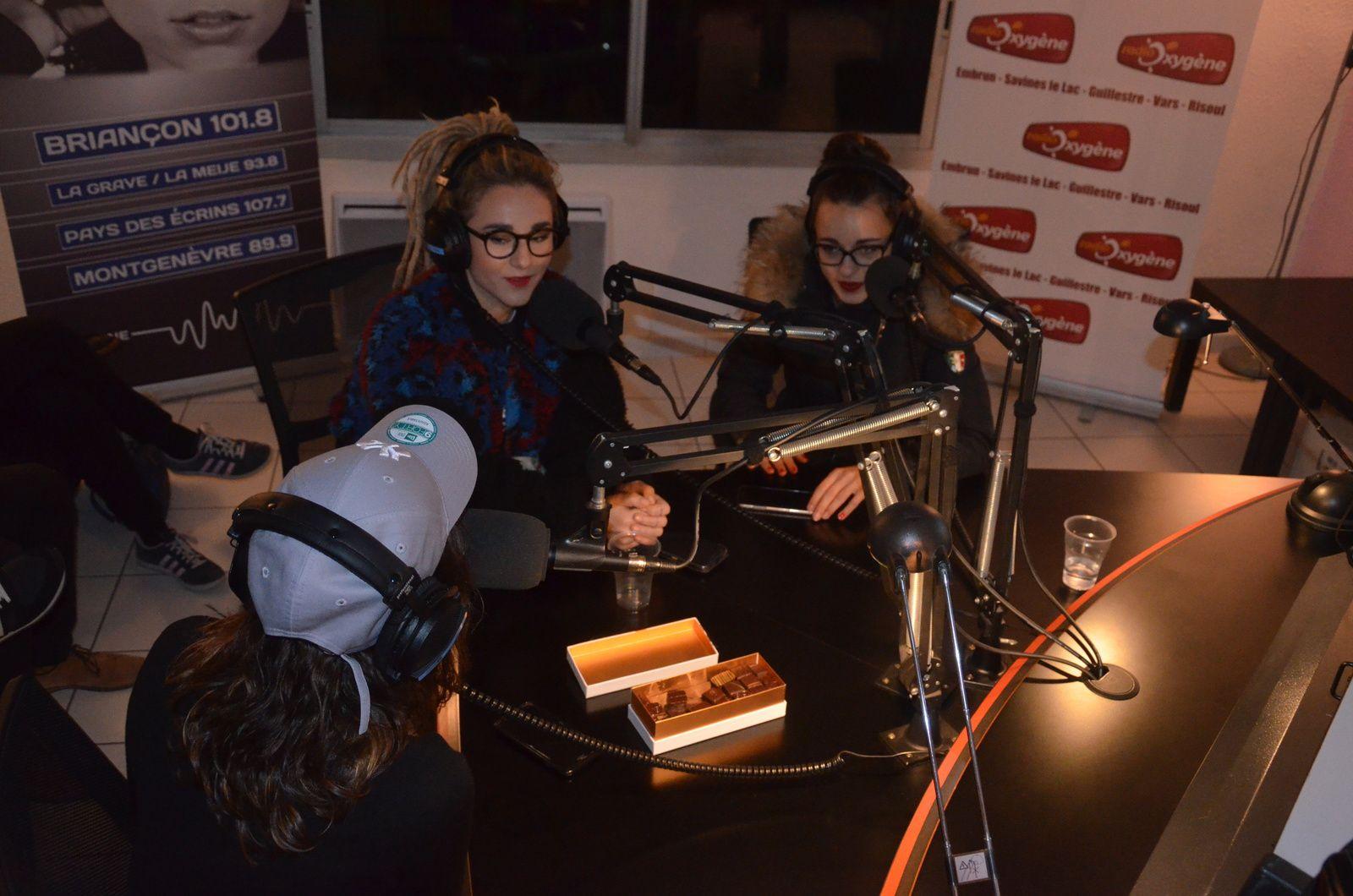 Radio Imagine - Photos : Passage L.E.J dans le studio