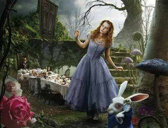 """Do you think I've gone round the bend ? I'm afraid so, you're mad, bonkers, off your head. But I'll tell you a secret, all the best people are."" Alice in Wonderland"
