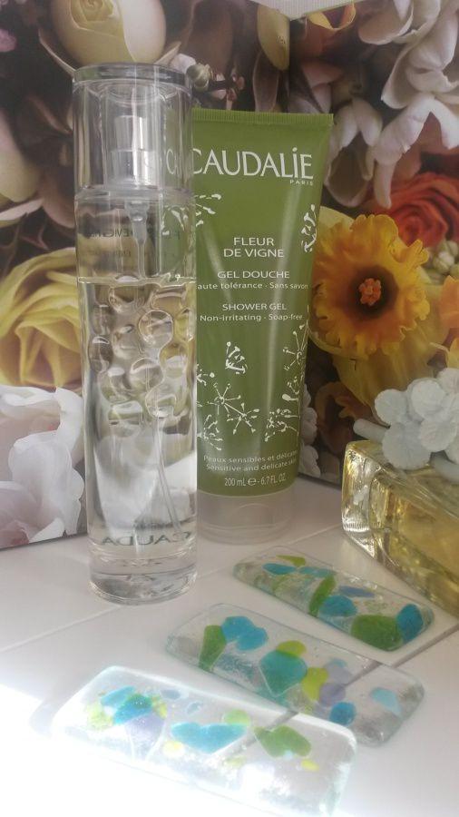 Fleur de vigne eau fraiche énergisante, fleur de vigne gel douche - Caudalie