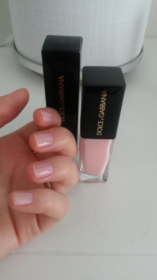 Vernis Lace Nail Lacquer - Intense Nail Lacquer in Pink- Dolce & Gabbana