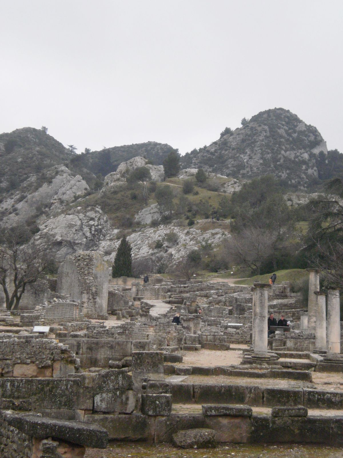 le site arch ologique de glanum st r my de provence. Black Bedroom Furniture Sets. Home Design Ideas