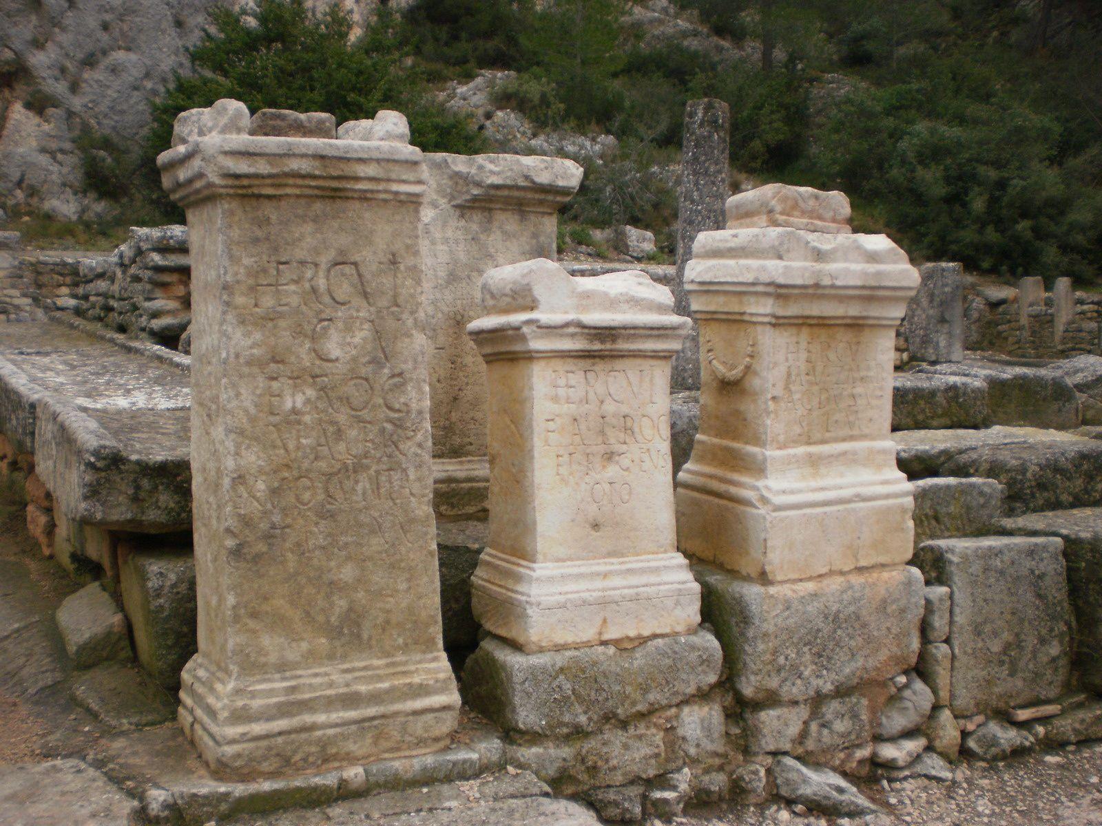 Le site archéologique de Glanum (St Rémy de Provence)