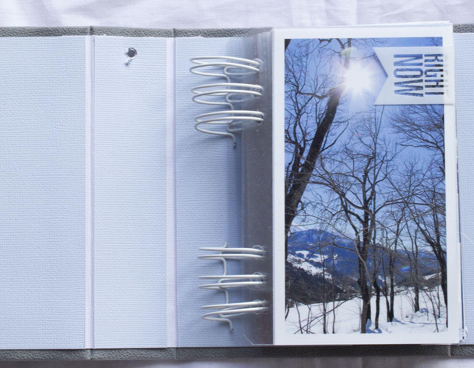 Mini Album &quot&#x3B;Bonhomme de Neige&quot&#x3B;