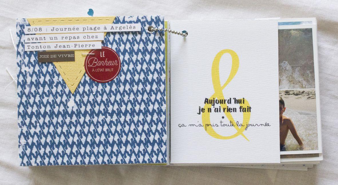 Mini-album &quot&#x3B;P'tits Bonheurs&quot&#x3B; et autres arrivées en boutique!