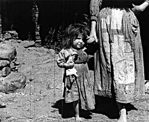 Las Hurdes la tierra sin pan de Buñuel