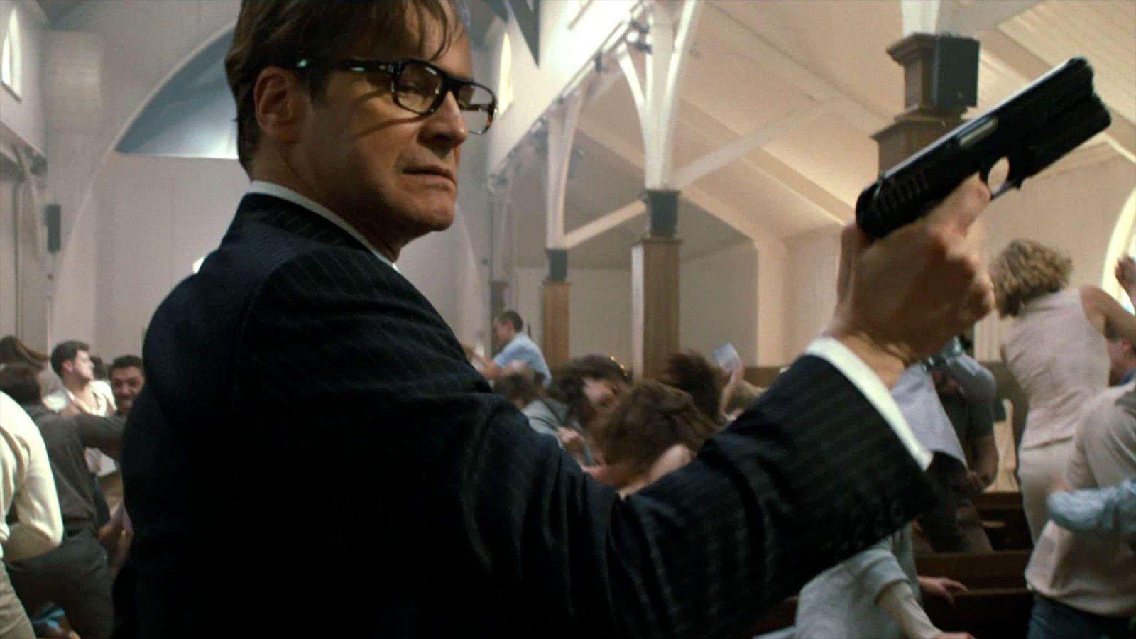 Colin Firth est l'agent Galahad.