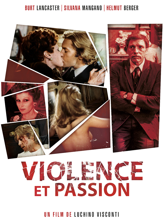 VIOLENCE ET PASSION de LUCHINO VISCONTI