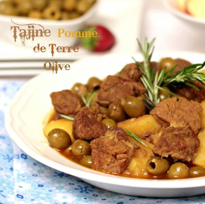 Pomme de terre aux olives
