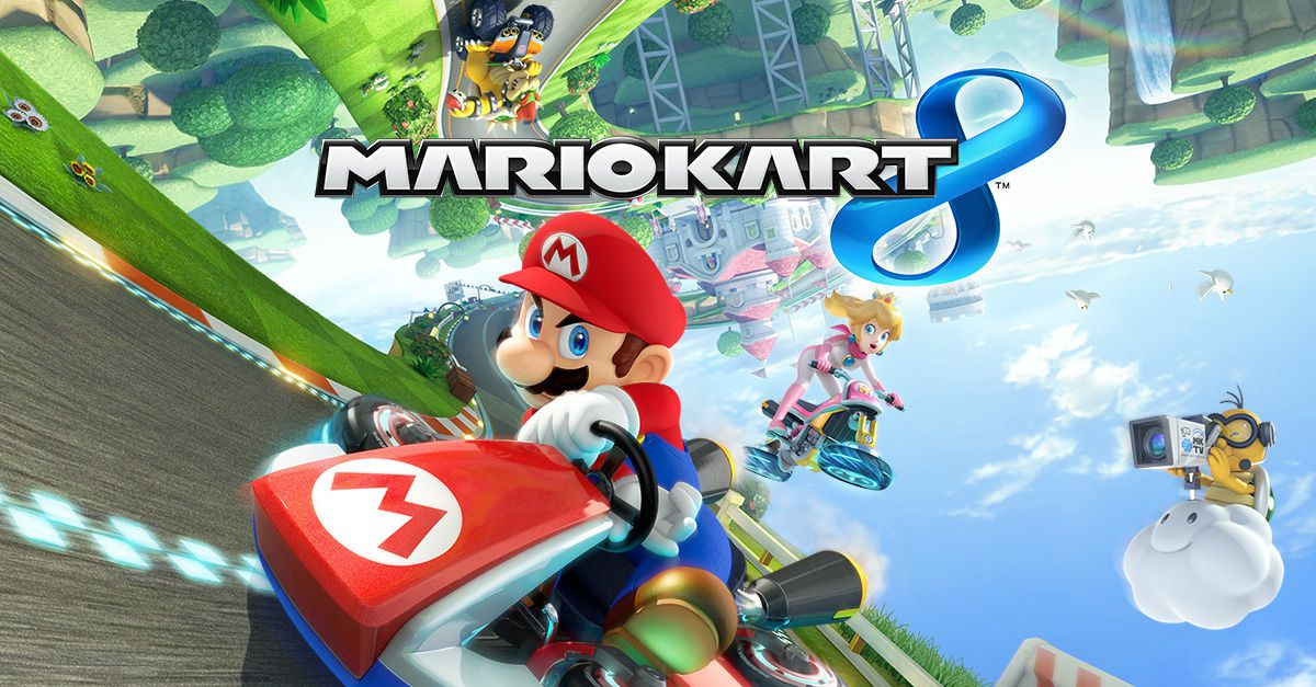 jeu mario kart 8 fun racing game l 39 ecran miroir. Black Bedroom Furniture Sets. Home Design Ideas