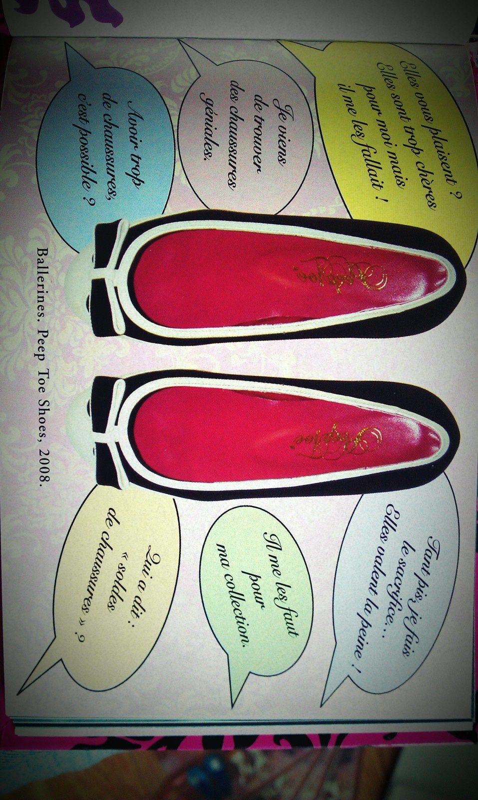 Vous allez vite comprendre ma passion pour les chaussures