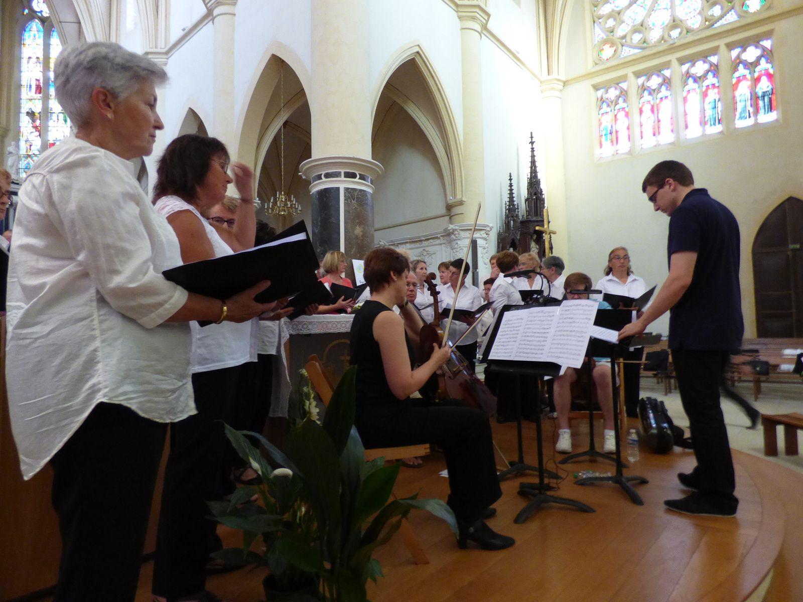 Dernière répétition avant le concert du 24 juin..