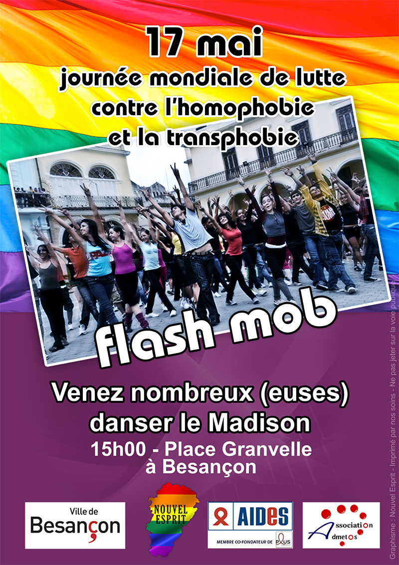 17 mai journ e mondiale de lutte contre l 39 homophobie et transphobie association lgbta nouvel. Black Bedroom Furniture Sets. Home Design Ideas