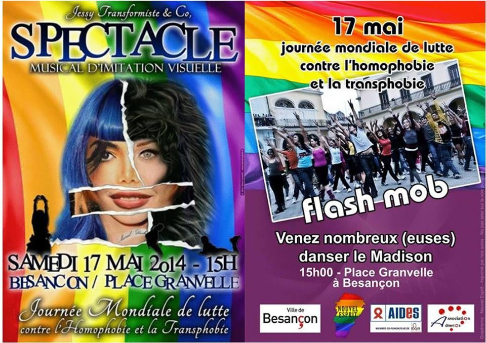 17 mai 15h journee mondiale de lutte contre l 39 homophobie et la transphobie association lgbta. Black Bedroom Furniture Sets. Home Design Ideas
