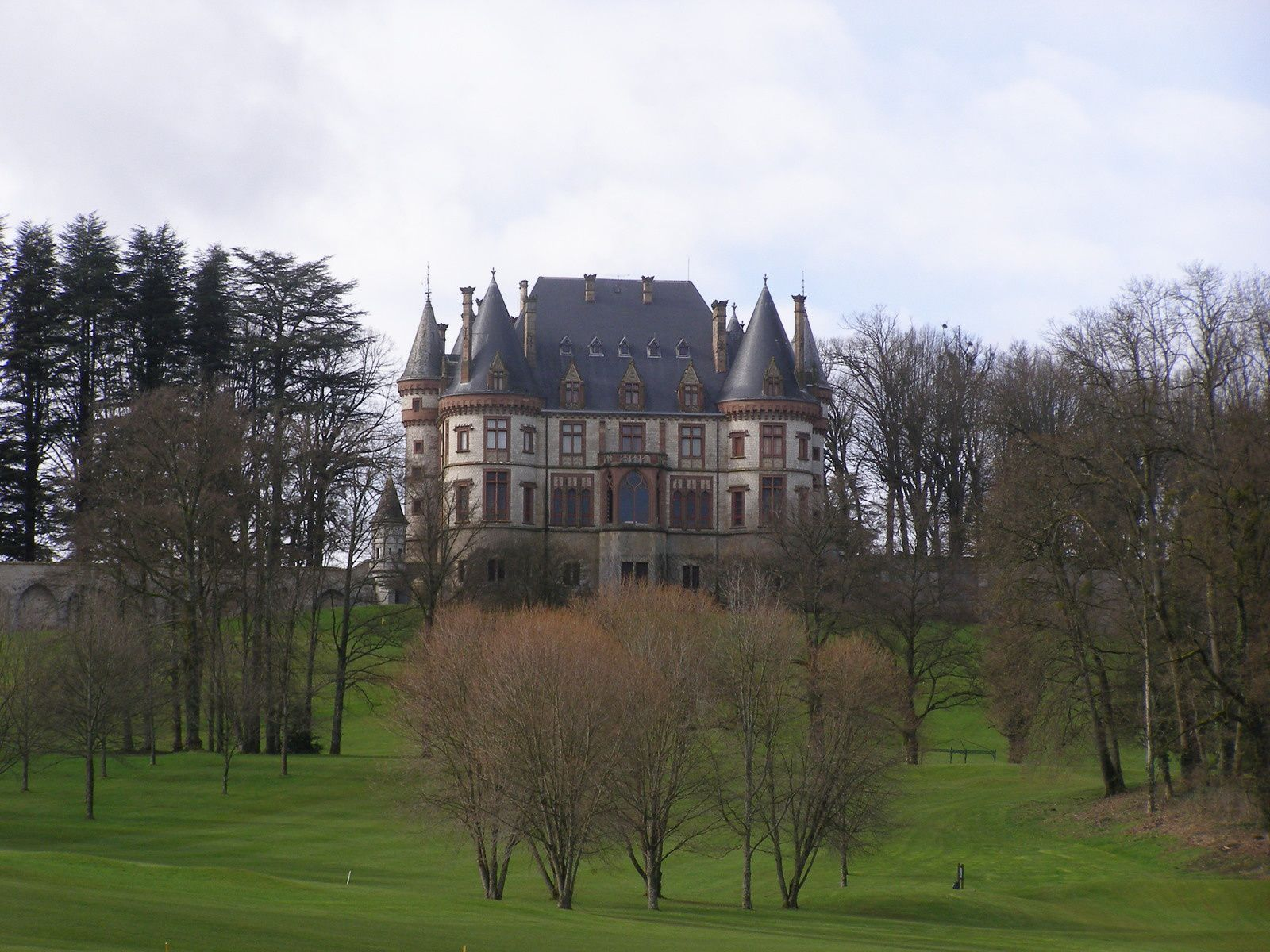 Rando du dimanche 10 avril : Belvédère et Château de Bournel
