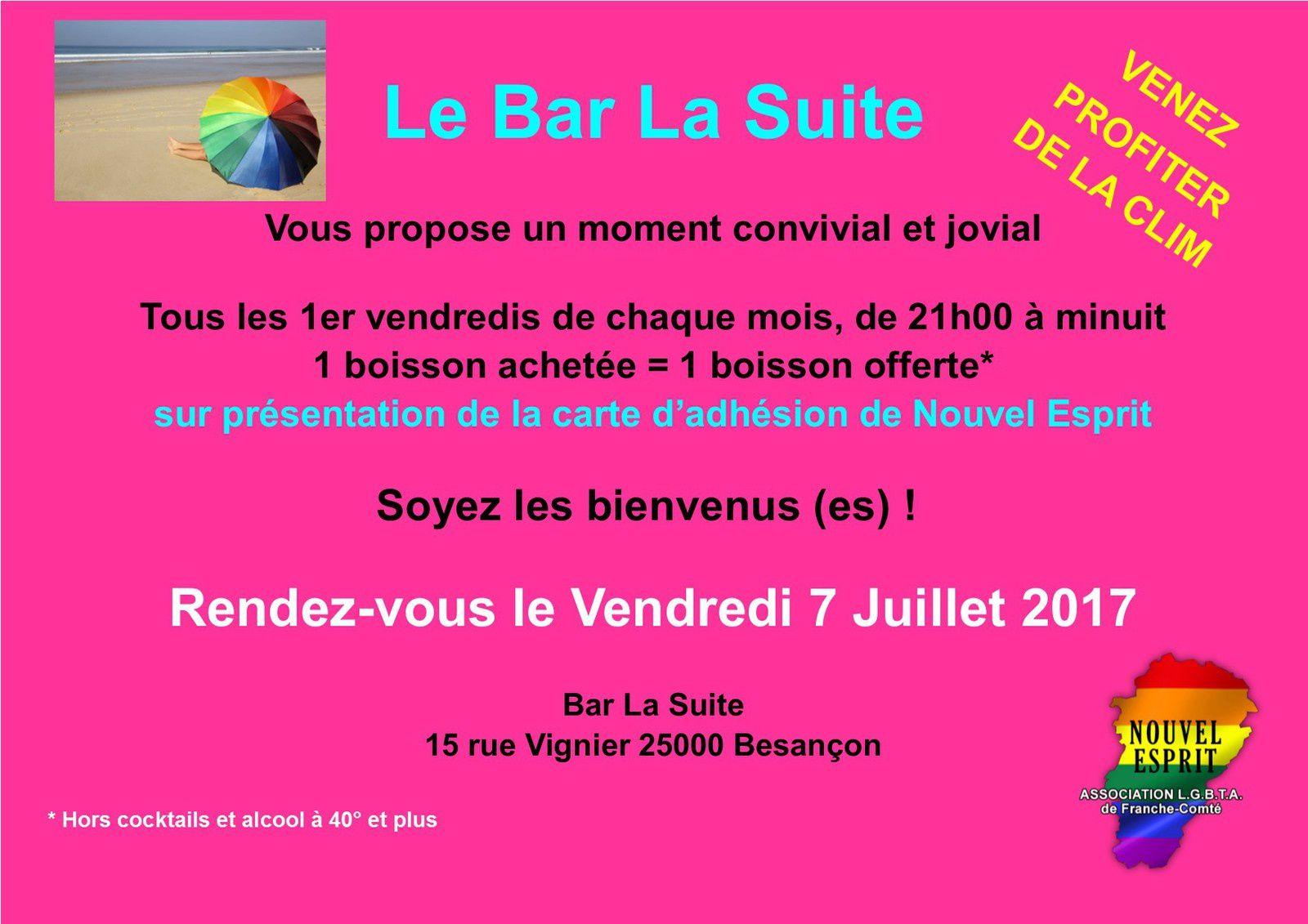 Happy Hour au Bar La suite