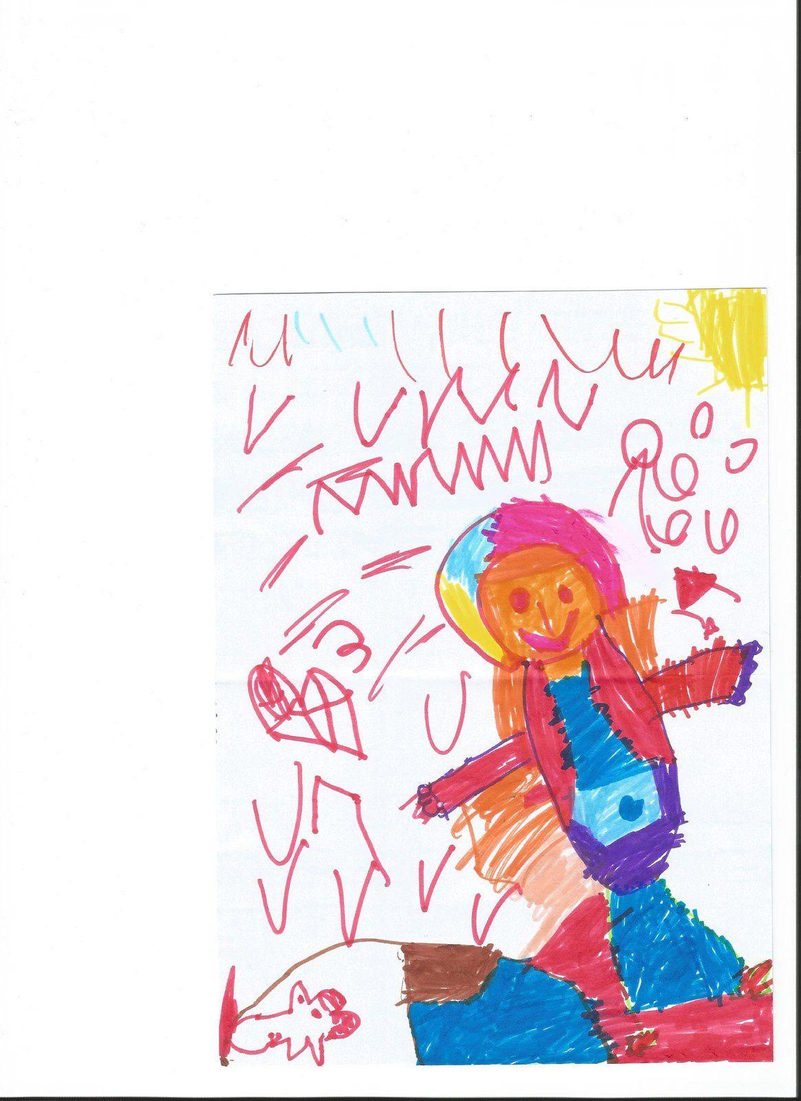 Portrait de moi en Petit Chaperon Rouge, vu par Jeune Papaye