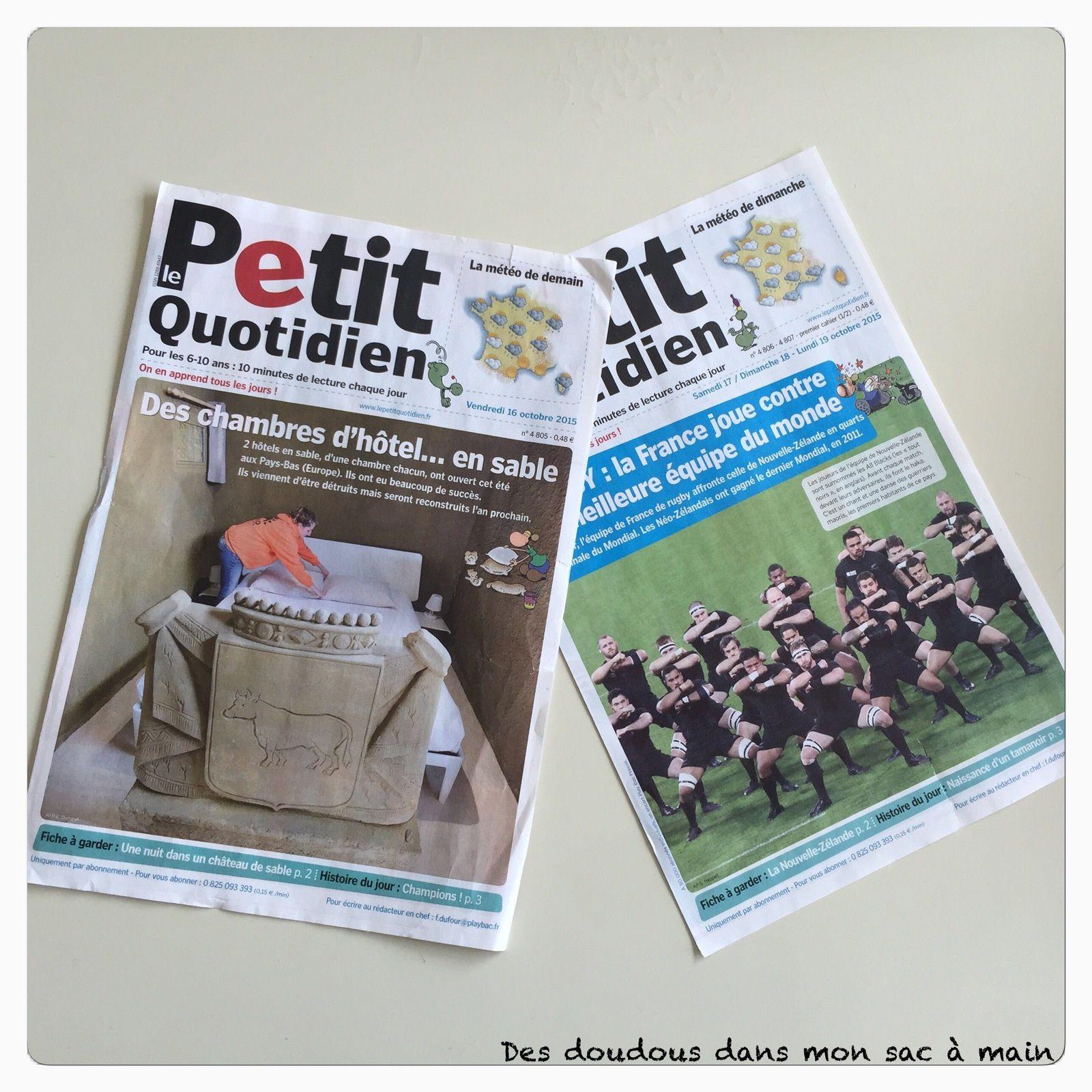 {Concours} Le Petit Quotidien