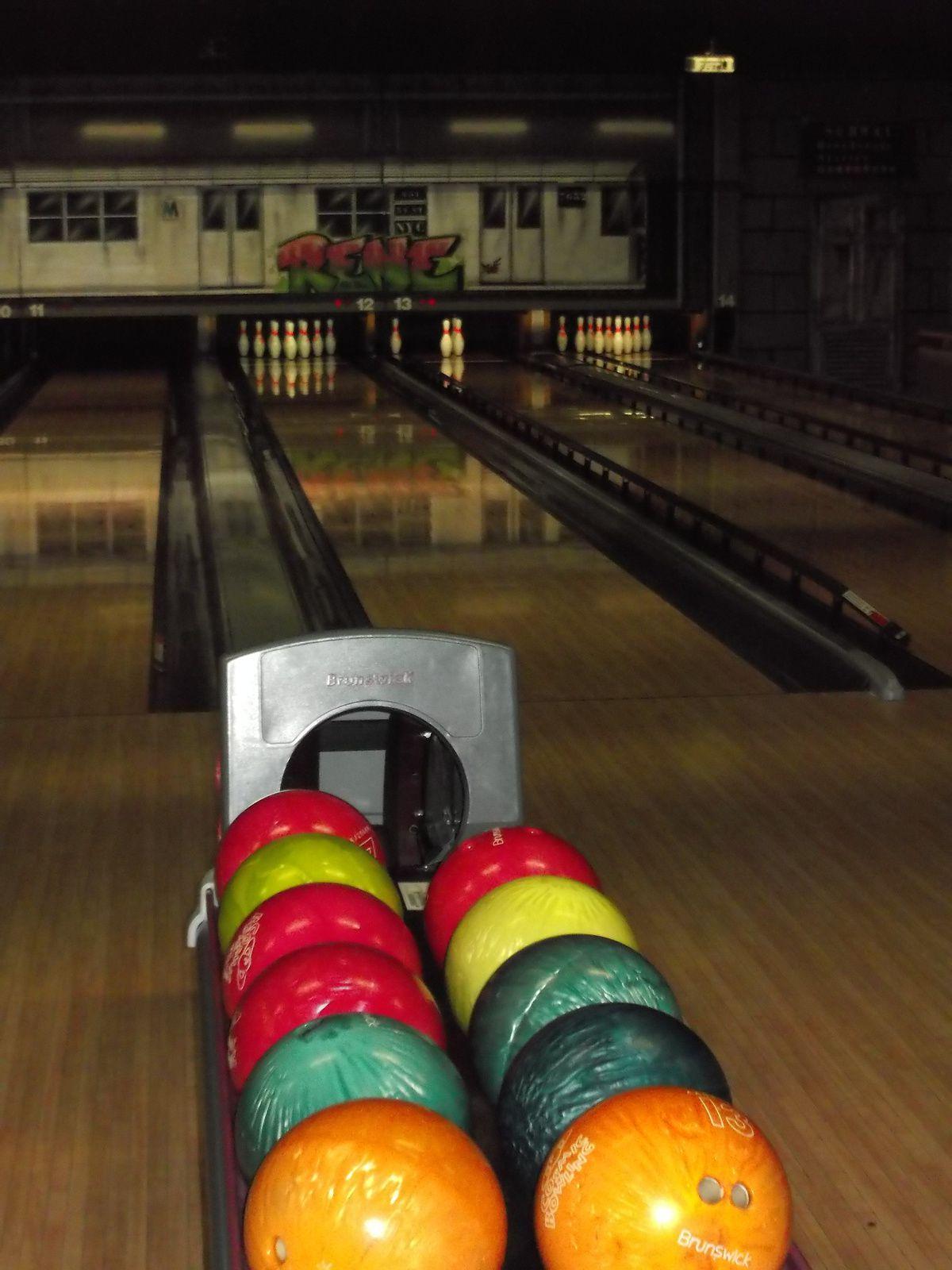 sortie au bowling avec les copines de la &quot&#x3B;junior association&quot&#x3B;